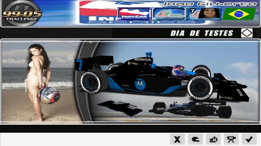 Uma das minhas primeiras experiências com modding, o IndyCar 2008, convertido do rFactor